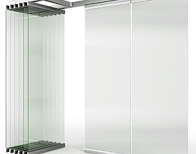 Glass Sliding Partition Walls ritona 3D model
