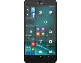3D model Microsoft Lumia 640 XL LTE White