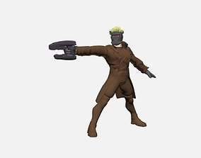 games-toys games 3D print model Starlord