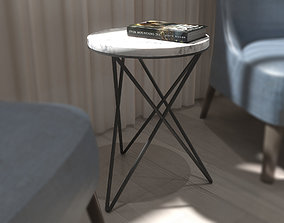 stone Coffee Table 3D Model