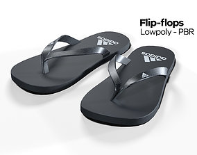 Flip flops - PBR - Lowpoly 3D asset