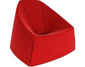 Casamania Ubu Red Chair 3D model
