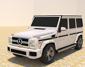 3D model MERCEDES BENZ G550 G-WAGEN SUV