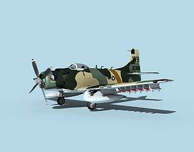 3D Douglas A-1H Skyraider V11 USAF