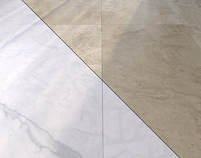 3D model Marble Floor Set 12