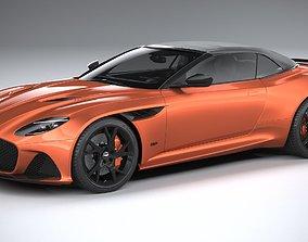 3D Aston Martin DBS Superleggera Volante 2020