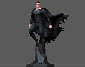 3D print model BLACK SUPERMAN JUSTICE LEAGUE JACK SNYDER 4