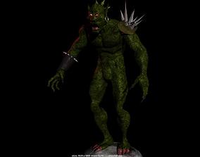 Monster reptile 3D model