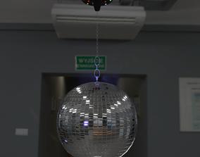 3D model Mirror disco ball