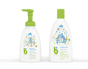 Babyganics Shampoo and Body Wash 3D model
