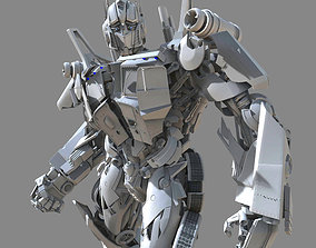 Optimus Prime- Transformer 3d model only sci