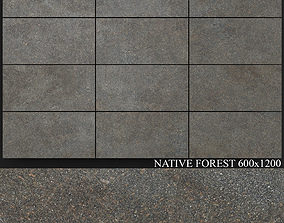 3D model ABK Native Forest 600x1200