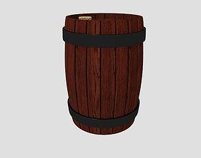 Corked Barrel 3D model