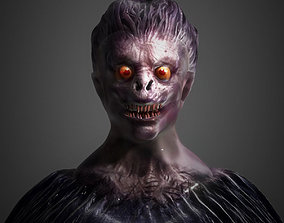 Death Note Bust 3D print model note