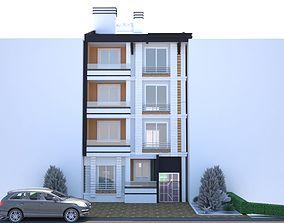3d modeling Apartment