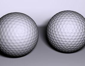 3D asset Golf Ball