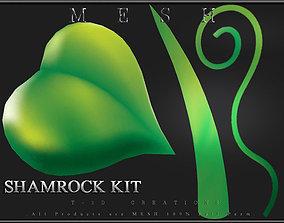 Shamrock Kit 3D asset