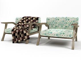 3D 66 armchair