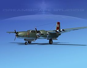 3D model Douglas A-26B Invader V04