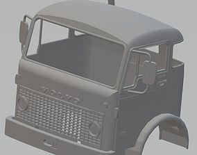 Volvo F86 Printable Cabin Truck crawler