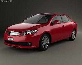 3D Toyota Allion T260 2010