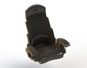 3D print model Custom Office Chair