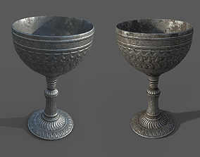3D asset Chalice or goblet - 2 variants - regular and 1