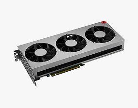 3D model AMD Radeon 7