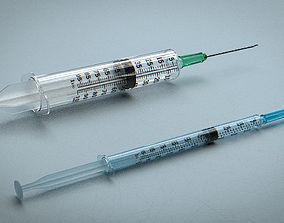 3D Syringe - Medical Instrument