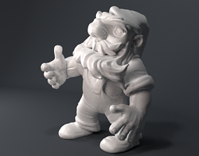 Strong gnome 3D printable model