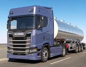 3D model Scania S 730 Tanker