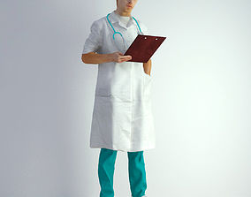 3d 3D Scan Man Doctor 022