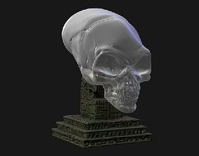 CRYSTAL SKULL INDIANA JONES 3D print model
