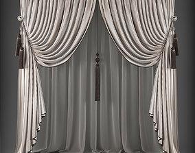 game-ready Curtain 3D