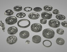 3D model gear set