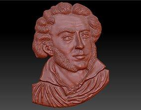 Alexander Pushkin 3D print model