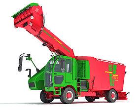 Strautmann Fodder Mixing Wagon Truck 3D model