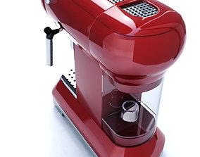 Smeg Coffee Espresso Machine 3D model