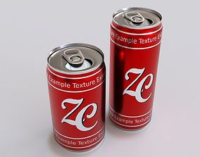 3D model food Soda Cans