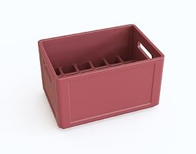 3D model Plastic crate 13