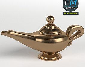 Genie Lamp 3D model