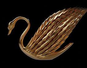 3D print model Crystal Swan