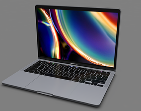 ultrabook MacBook Pro 13-Inch 2020 3D model