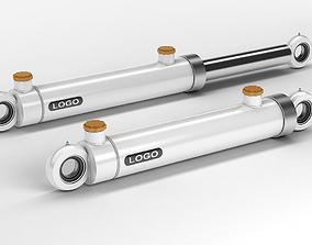 Hydraulic Cylinders 3D model