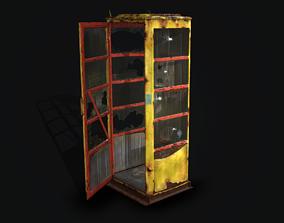 3D model Phone station in Pripyat