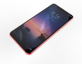 3D print model Xiaomi Redmi Note 6 Pro transparent rubber
