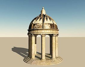 3D model Roman Dome Garden Folly