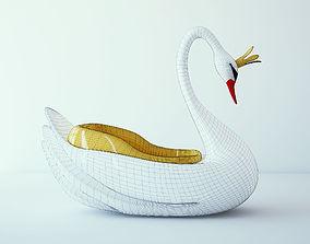 carousel swan 3d models realtime