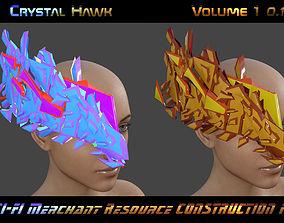 3D asset CRISTAL HAWK Vol 1 0 1 - MERCHANT RESOURCE