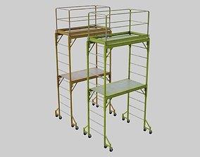 3D asset Scaffold 1A